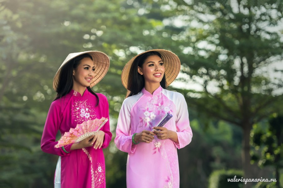 Праздник национального платья «аозай» в Хошимине