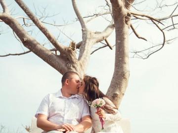 Свадебная фотосессия во Вьетнаме. Фотограф Валерия Панарина. Свадьба во Вьетнаме